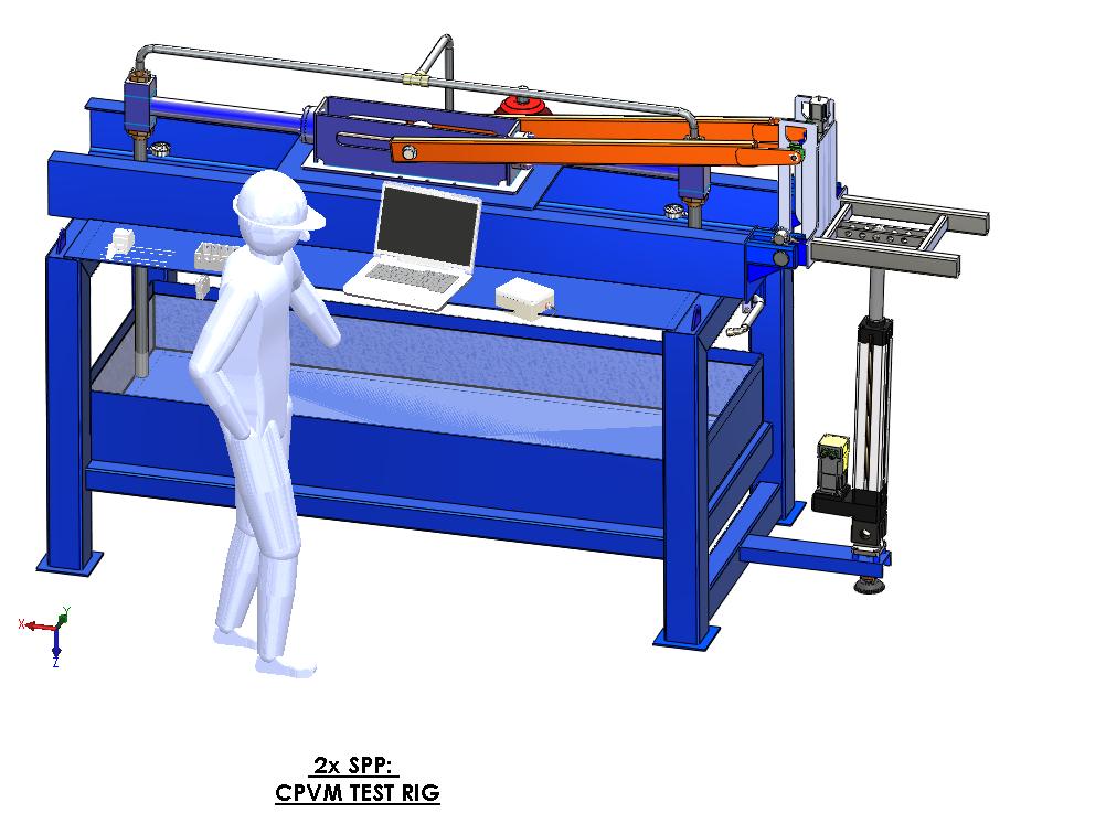 Solidworks Design of Test Rig