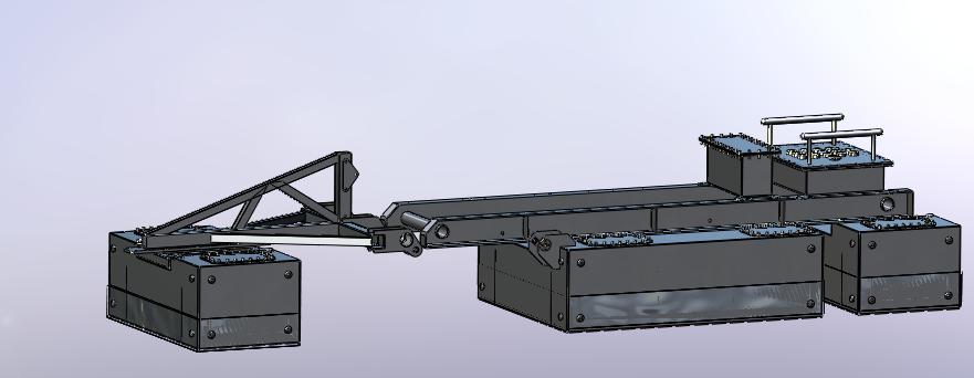 Solidworks Design of 1x Model