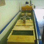 Parametric Wooden Model in Seapower's Wave Flume